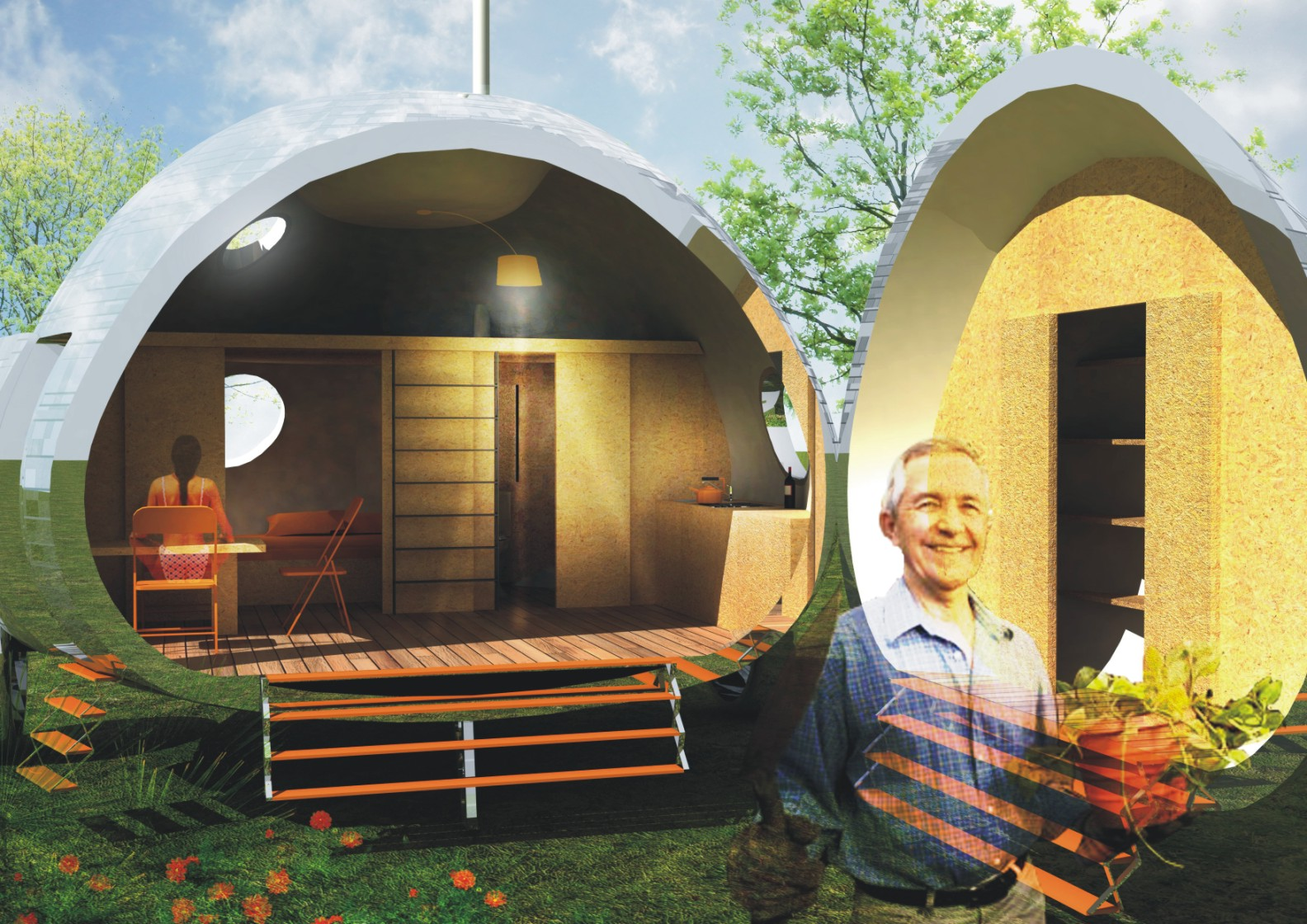 Ecocapsule For Andes Sprouts Nice Architects